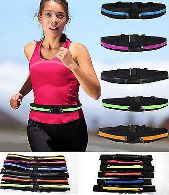 Outdoor Sports Fitness Running Waist Bag For Samsung phones Key Money Belt Pack