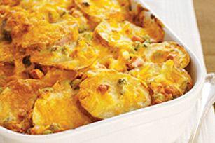 Easy Cheesy Scalloped Potatoes recipe