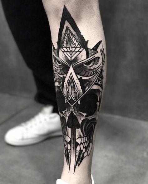 Tatuajes En La Pierna Para Hombres Con Los Mejores Disenos Tatuajes Pierna Tatuajes Tatuajes Para Hombres