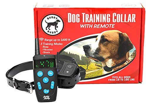 Cheap Buddybuddy Dog Training Collar Anti Bark Remote Controller