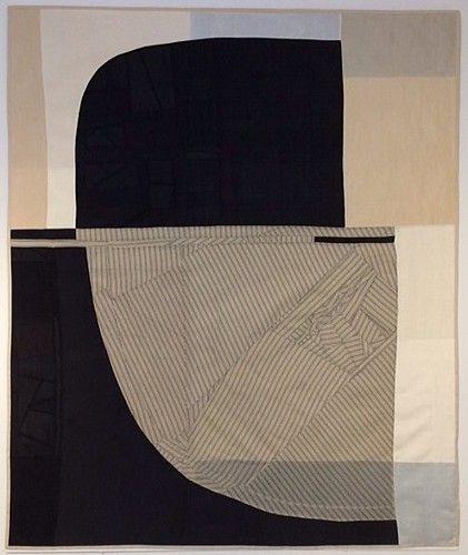 "Debra Smith, ""Above the Horizon,"" 2014, Pieced vintage silk"