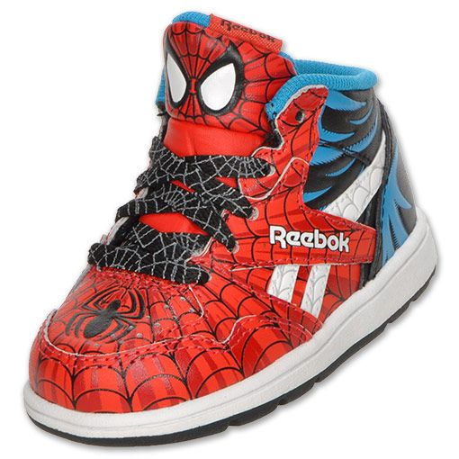 Reebok Sir Jam Spiderman Toddler Casual Shoe Finishline