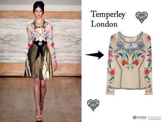Temperley London F/W 2012