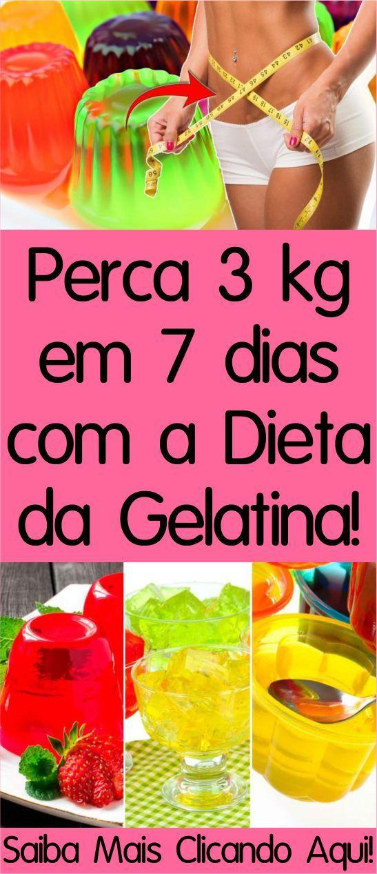 dieta da gelatina para emagrecer rapido