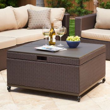 inspiration for patio coffee table with storage newport
