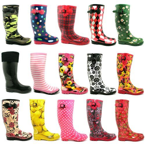 "Spy Love Buy Womens Festival Wellies Wellingtons Boots ""Savannah"" $31.95 - $36.99"