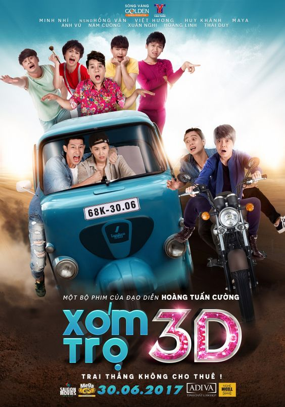 Phim Xóm Trọ 3D