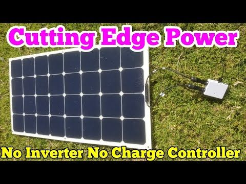 Solar Panels Direct No Inverter No Battery Bank No Charge Controller Youtube Solar Power Energy Solar Power Solar Energy Panels