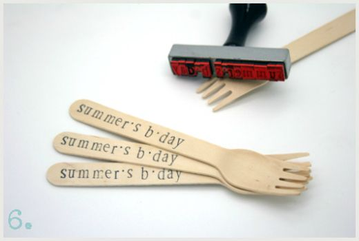 Cool things to do with wooden cutlery