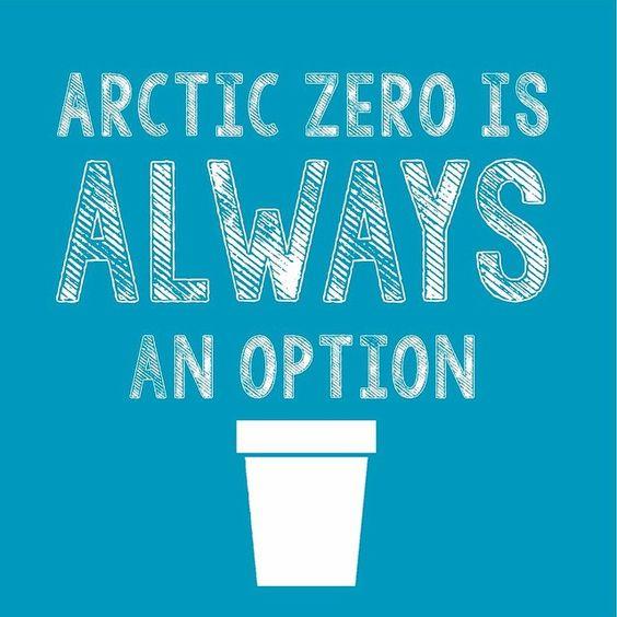 Arctic Zero is always an option.