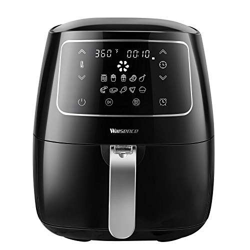 5.6QT Electric Air Fryer Oven Air Cooker One Spoon