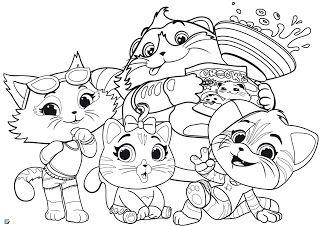 Desenhos Da Lulu 44 Gatos Para Colorir Com Imagens Colorir