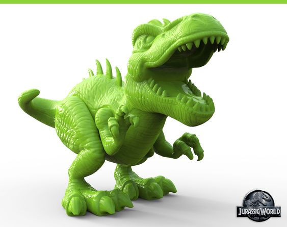 Jurassic World Toy Sculpts