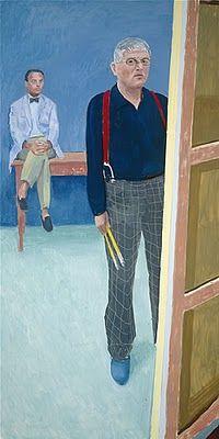 David Hockney, self-portrait, 2004