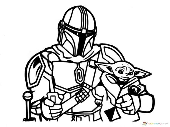 Coloring Pages Baby Yoda The Mandalorian And Baby Yoda Free Coloring Pages Unique Coloring Pages Yoda Clipart