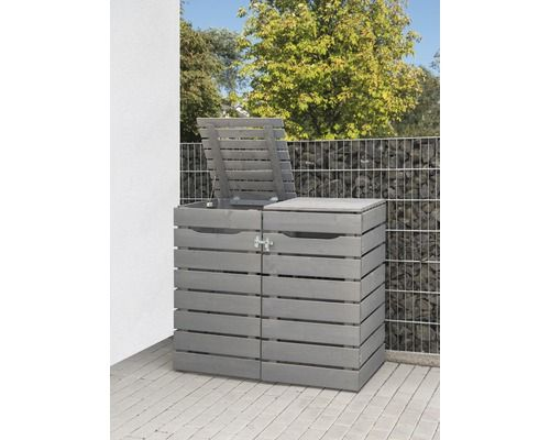 Mulltonnenbox Konsta Style Typ 545 Doppelt 140x80x120 Cm Grau Bei Hornbach Kaufen Mulltonnenbox Altbau Renovierung Mulltonnen Box