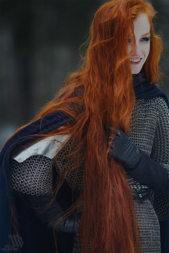 hvitrose: dying my hair red (right now) i hope it turns out as pretty as this pretty redhead: