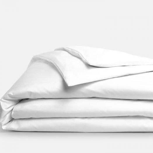 300 Thread Count 100 Cotton Percale Duvet Cover Set With Sateen Finish Duvet Cover Sets Duvet Covers Duvet