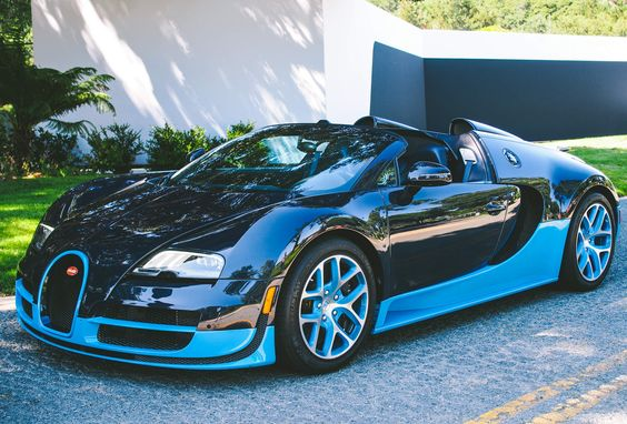 """Have you ever driven a Bugatti before?"" asked the driving instructor from Bugatti's factory."
