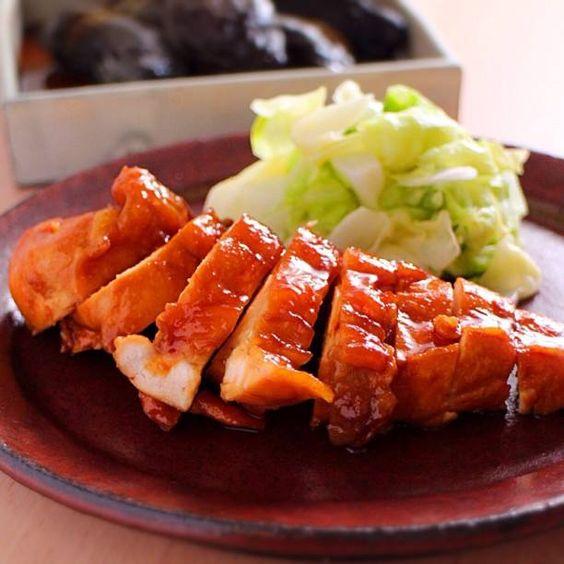 パサつきなしの鶏むね肉のしょう油煮込み  |  あさこ食堂