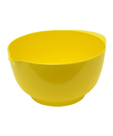 Love this Gourmac Butter Yellow 4-L Bowl by Gourmac on #zulily! #zulilyfinds