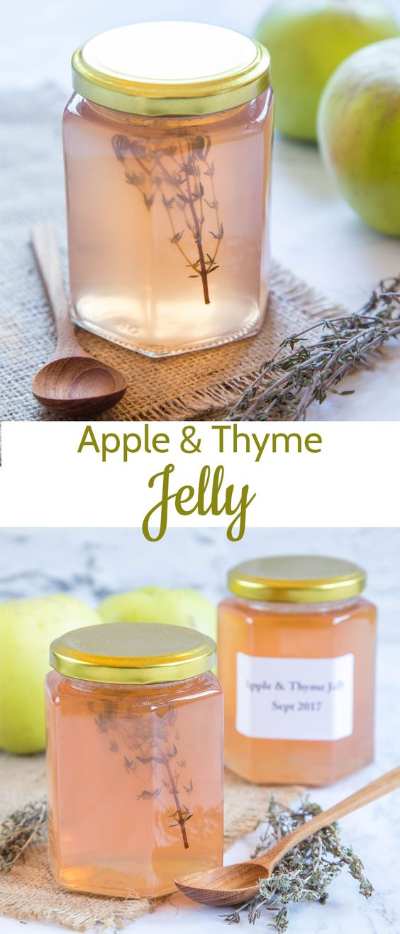 Apple Jelly With Thyme