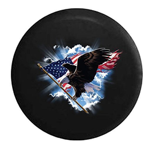 Jeep Wrangler Tire Covers Jeep Spare Tire Cover Bald Eagle