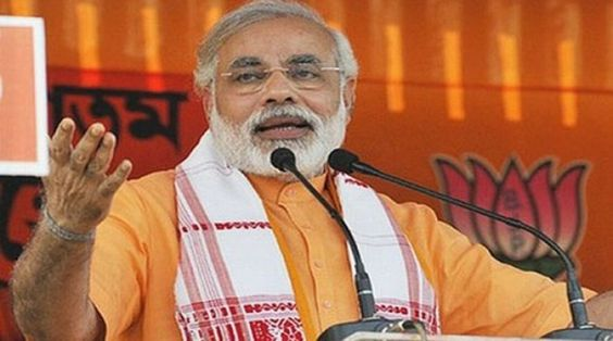 Congress created hostility between Telangana and Seemandhra Modi