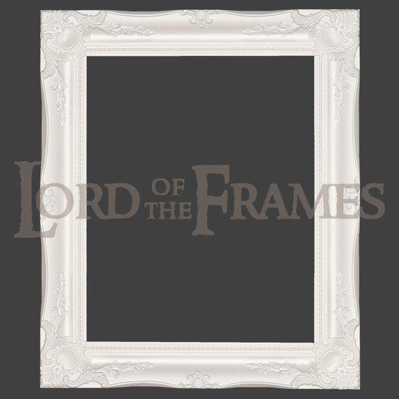 Atemberaubend White Shabby Chic Picture Frame Bilder - Badspiegel ...