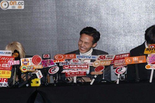 141202 G-Dragon at Tencent·QQMusic x YG Entertainment Press Conference
