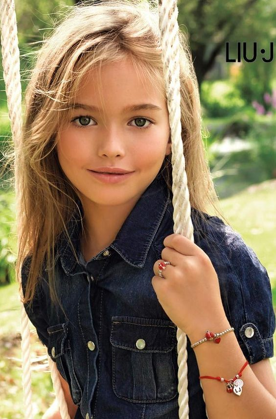 Russian child model Anastasia Bezrukova. | just too cute