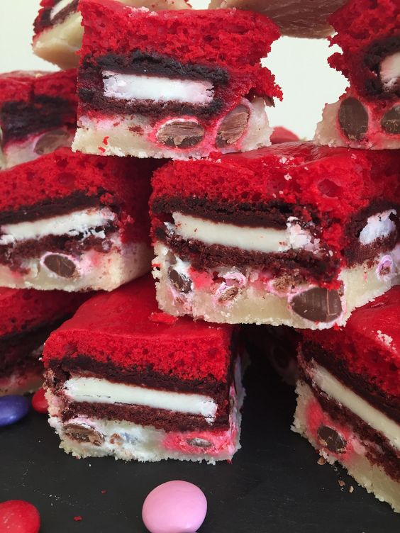 Red Velvet Slutty Brownies from www.whatsgabycooking.com (@ ...