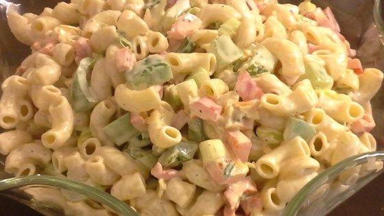 Macaroni Salad Recipe Green Onions