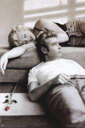James Dean & Marilyn Monroe: