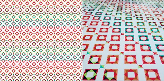 Wrapping papers by Éva Valicsek on Behance