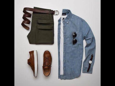 كيفية تنسيق البنطال الزيتي للشباب بطريقة احترافية من احلى عالم Clothes Fashion Khaki Pants