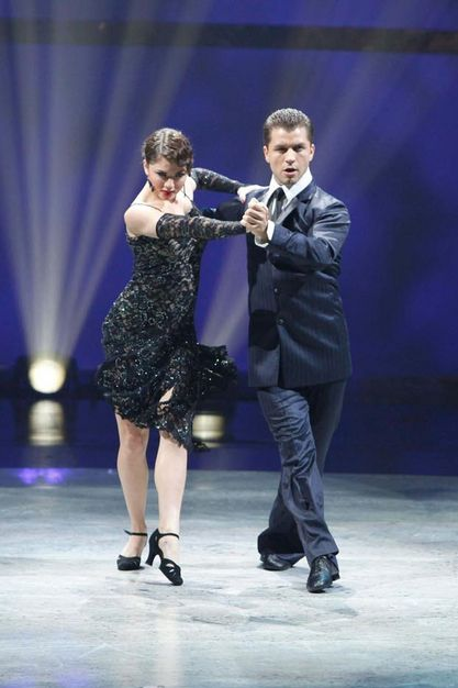 Caitylynn and Pasha doing the Argentine Tango on SYTYCD