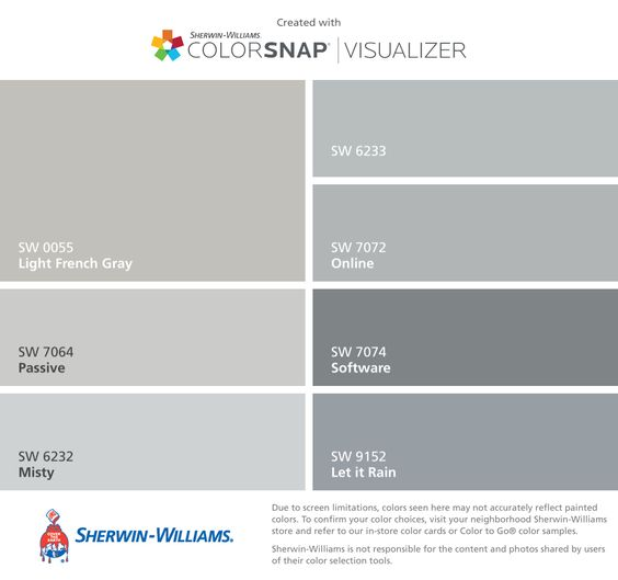 Actual colors i will use to paint the house light french for Gray tone paint colors
