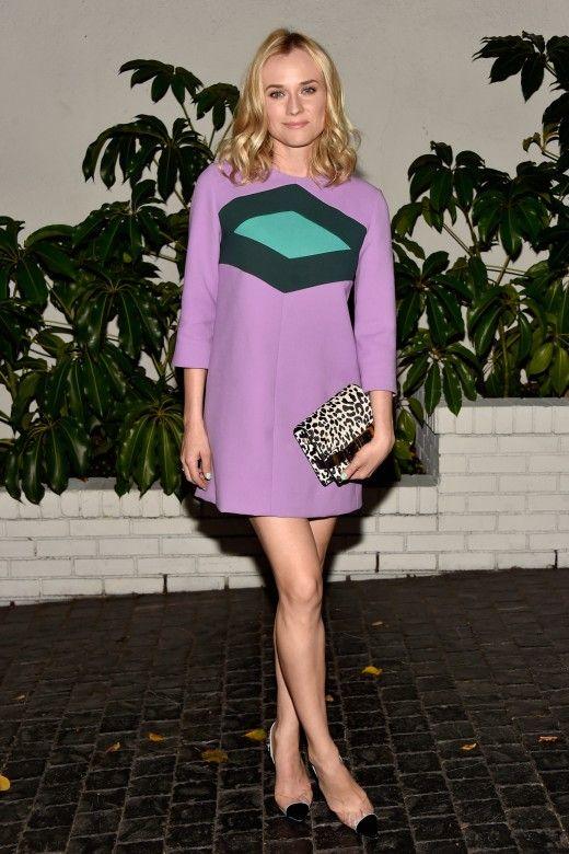 Wir wissen es ja schon länger, aber Diane Kruger machte es nun in Marni offiziell: Der Minirock ist zurück!