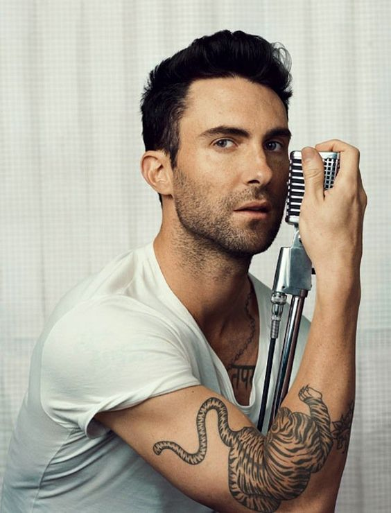 Pin for Later: You Can't Help but Appreciate Adam Levine's Good Looks When He Was Superready For His Close-Up