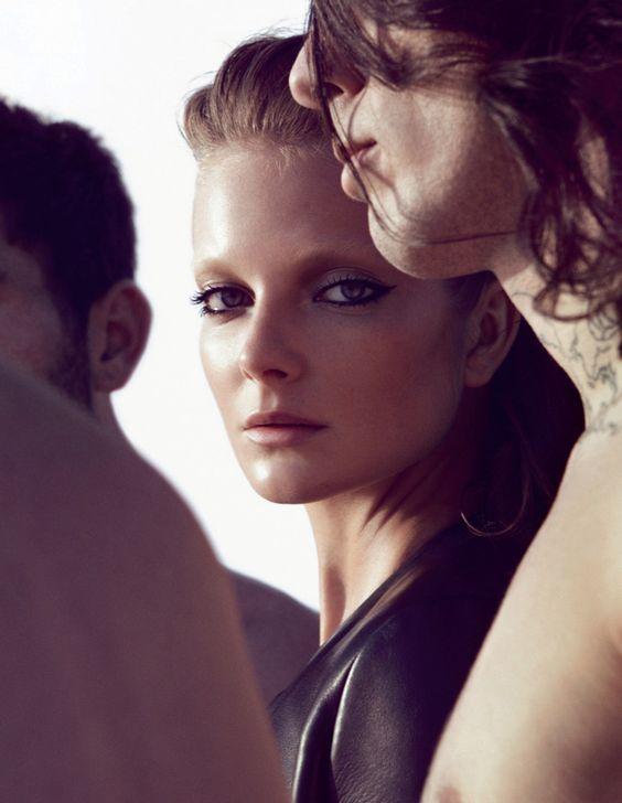 Eniko Mihalik for Vogue Germany