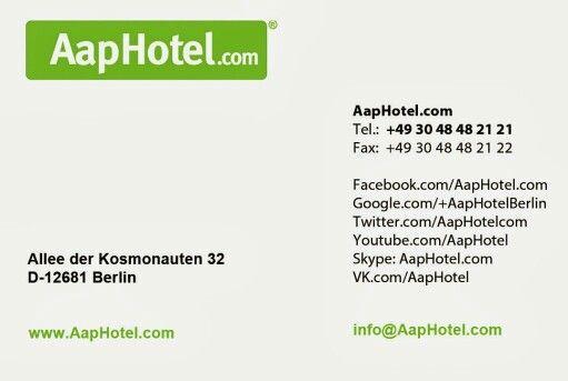AapHotel.com - Visitenkarte
