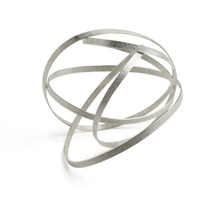 wearable arm sculpture - curvature by ute decker