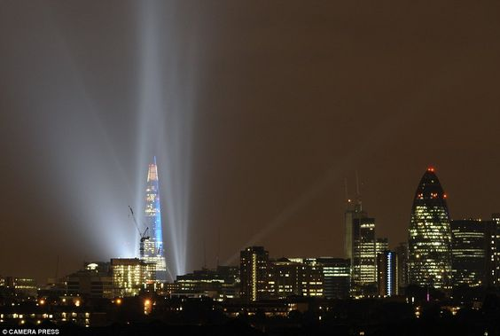 The Shard, el edificio mas alto de Europa, inaugurado hoy en Londres