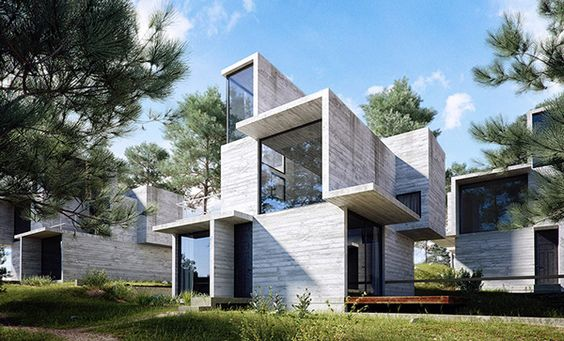 Exterior Visualization on Behance