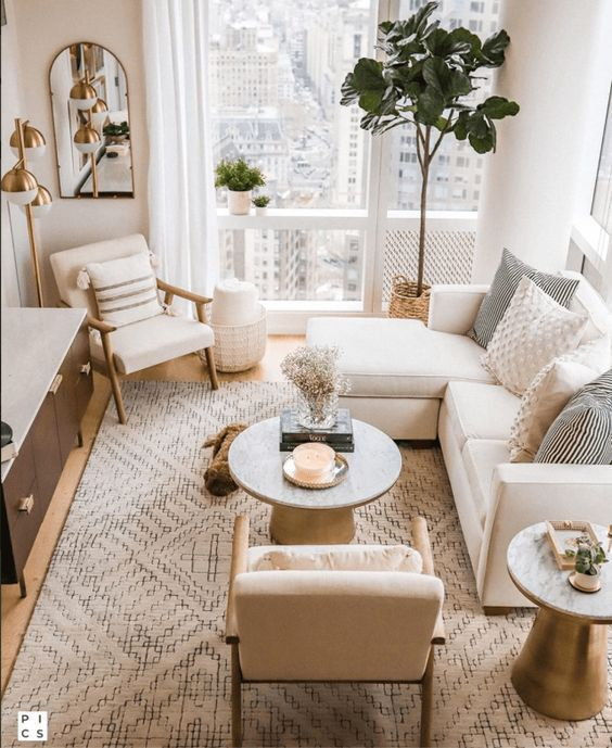 Small Living Room The 18 Best Ideas On A Budget In 2021 Small Apartment Living Room Apartment Decorating Living Small Living Room Decor