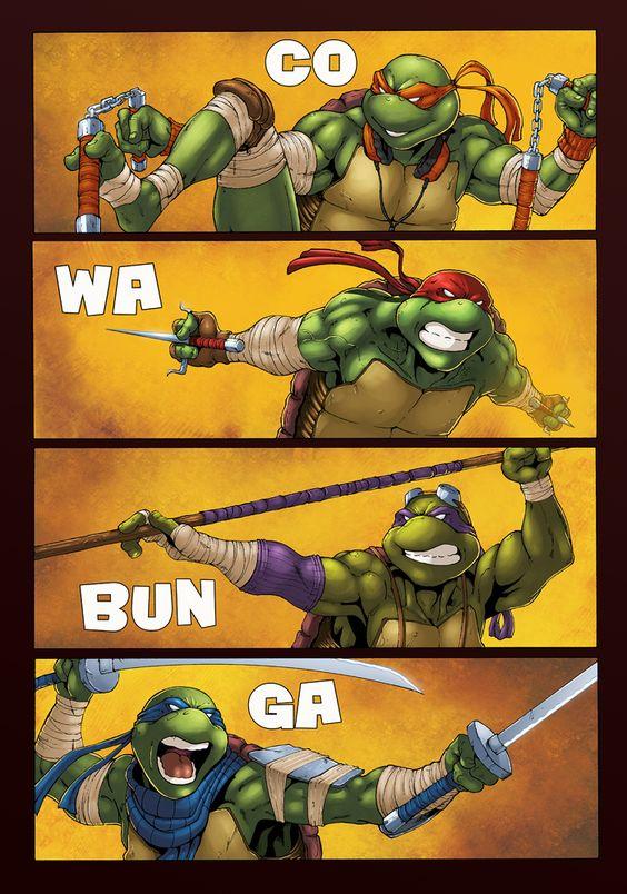 Ninja Turtles by *logicfun