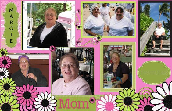 Pixingo card, Loving Memory, Tribute to Mom, Aunt