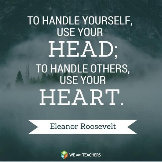 Inspiring Quotes Eleanor Roosevelt