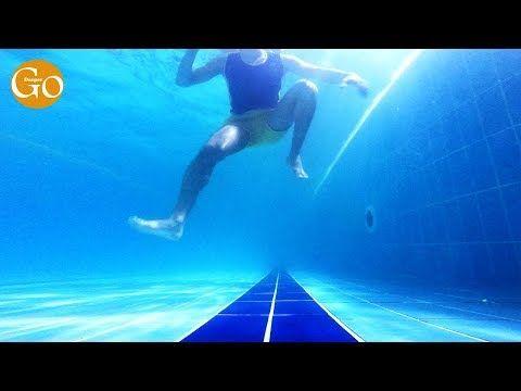تعليم كيفية الوقوف في الماء بشكل عمودي Youtube Swimming Screenshots Desktop Screenshot